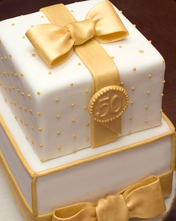 50th Anniversary Cake for grandma and grandpa