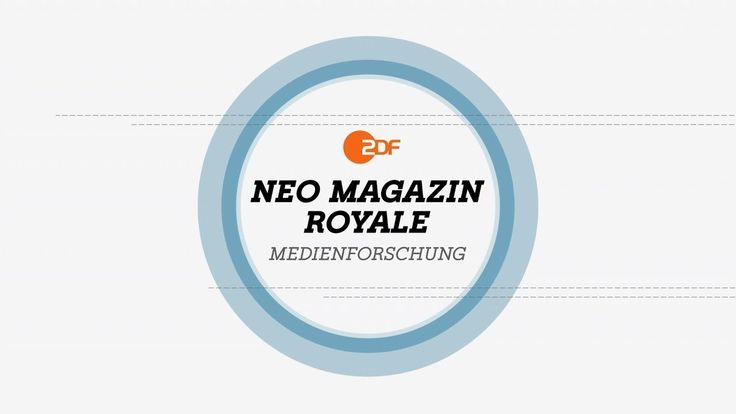 NMR Medienforschung: Was darf Satire? - Musik und Humor | NEO MAGAZIN RO...