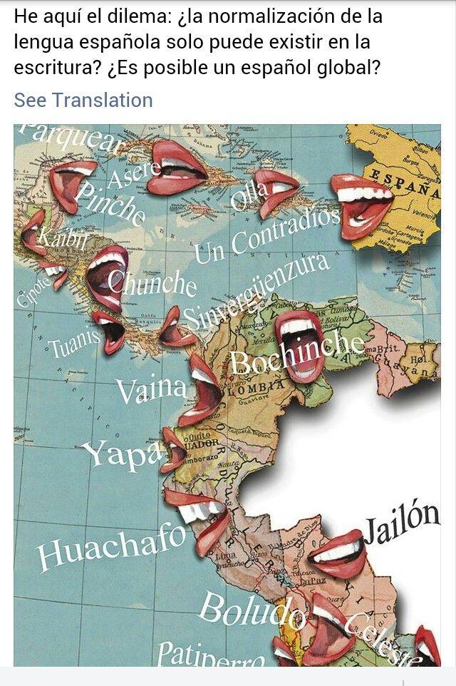 Best Vernacular Spanish Language Images On Pinterest Spanish - Spanish global language