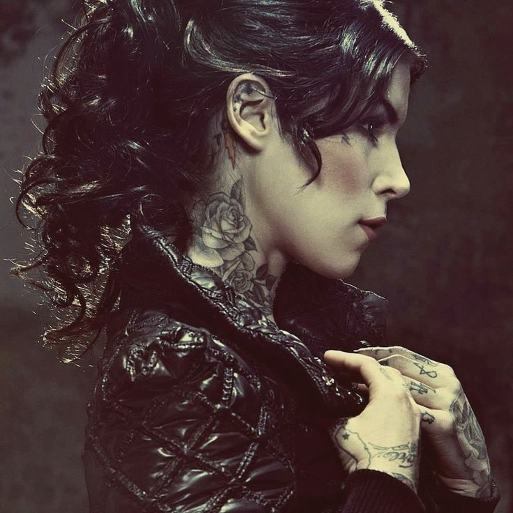 Flower Tattoo Kat Von D: Best 25+ Rose Neck Tattoo Ideas On Pinterest