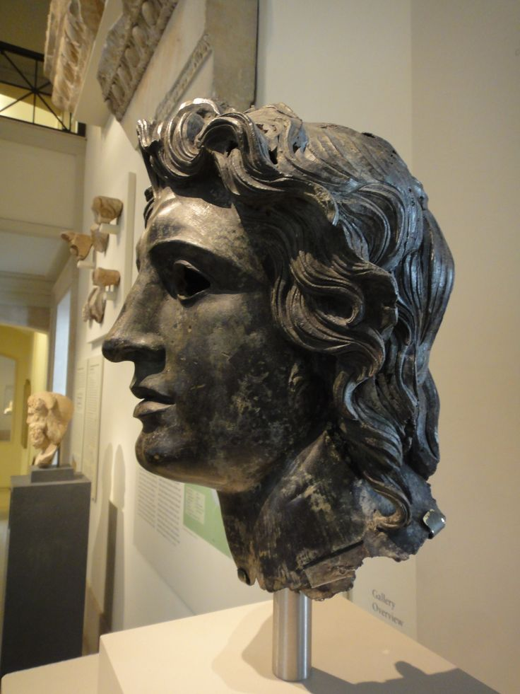 Alexander the Great, 150-138 BCE, Bronze, MET