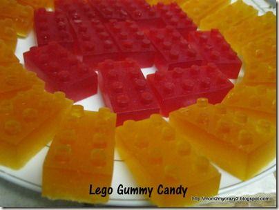 Lego Brick Gummy Candy
