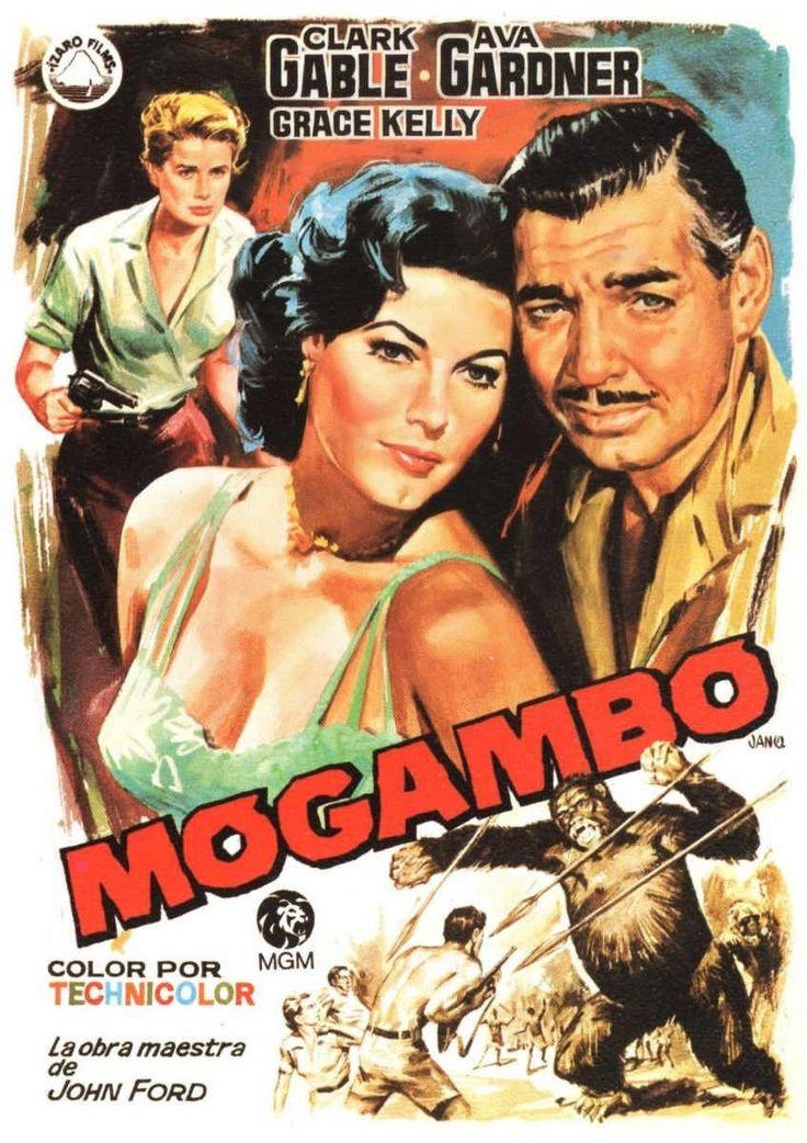 Mogambo es una película estadounidense de 1953 dirigida por John Ford y con Clark Gable, Ava Gardner y Grace Kelly como actores principales. https://es.wikipedia.org/wiki/Mogambo_(pel%C3%ADcula)