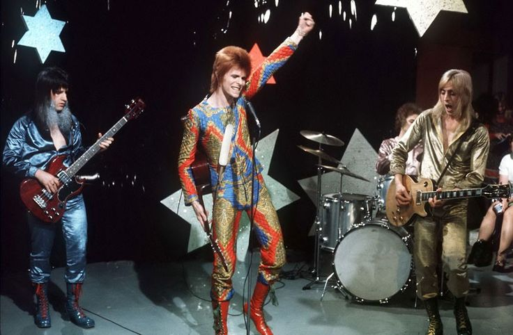 Ziggy and the Spiders From Mars: Starman  (June 1972)