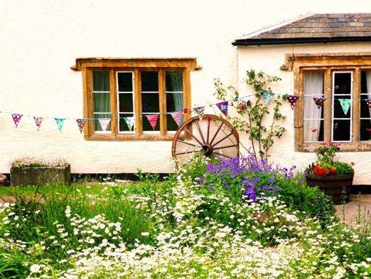 Hunstile Organic Farm garden