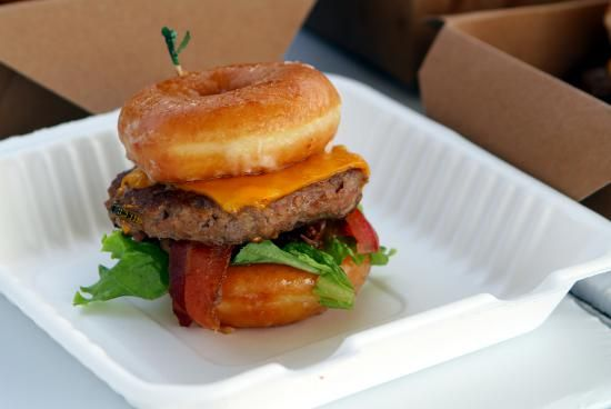 @ortdavid I'm looking forward to having another donut burger this year. Nice pic you took!