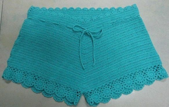 crochet underwear   Ladies Crochet Beach Shorts (R966) - China Cotton Patch,Patch