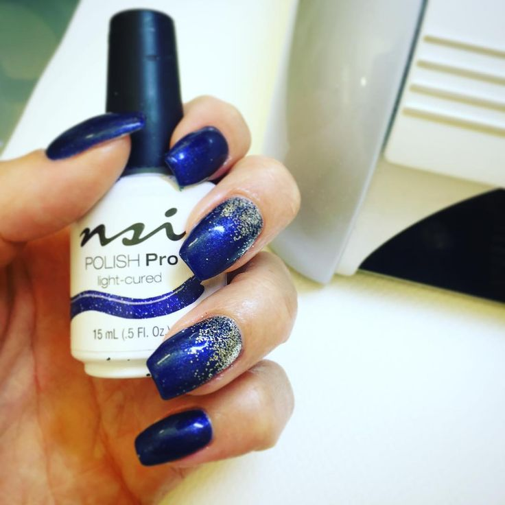 Show off your love for winter with NSI Polish Pro in Midnight!
