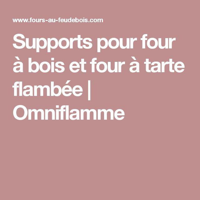 Supports pour four à bois et four à tarte flambée | Omniflamme