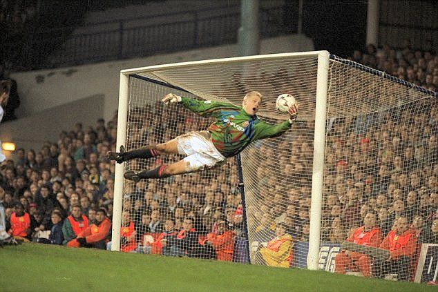 Peter Schmeichel – Denmark and Manchester United