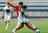 Con solitario gol de Raúl Servín al minuto 29 de juego, los Pumas Morelos derrotaron 1-0 al equipo de Toros Neza en el Estadio Unidad Deportiva Centenario.    Con este resultado, los Pumas Morelos consiguieron su tercera victoria en lo que va del Torneo Clausura 2012 y suman 11 unidades, en tanto que Toros Neza se queda con las 15 unidades con las que llegó al encuentro.