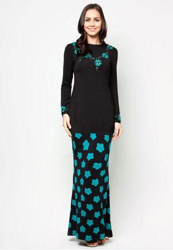 Syawal Floral Baju Kurung