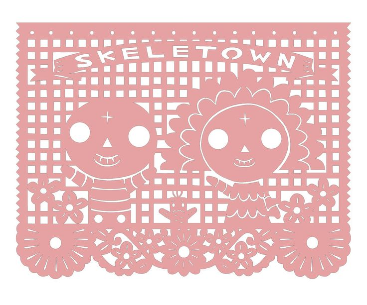 34 best images about love dose papel picado on pinterest for Papel picado template for kids