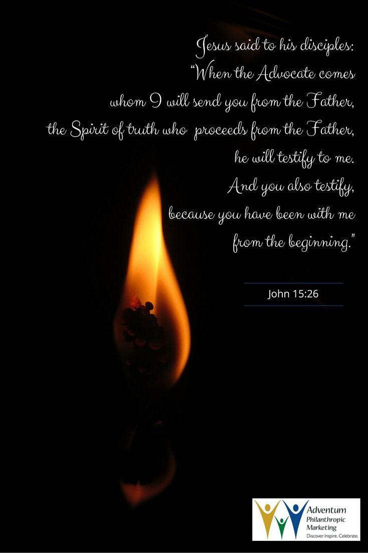 May 2, 2016 – John 15:26