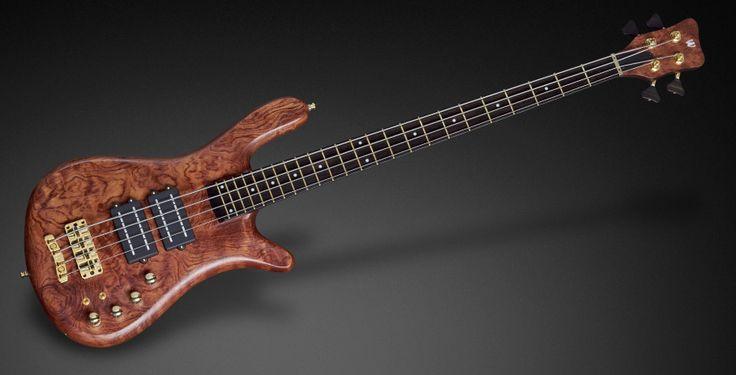 Justin Chancellor custom Warwick bass