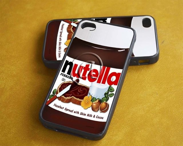 Nutella iPhone case! #onlineshopping #iPhone #blisslist Buy it on BlissList: https://itunes.apple.com/us/app/blisslist-easy-shopping-gifting/id667837070