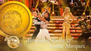 Alexandra and Gorka Quickstep to The Gold Diggers Song  Strictly Come Dancing 2017