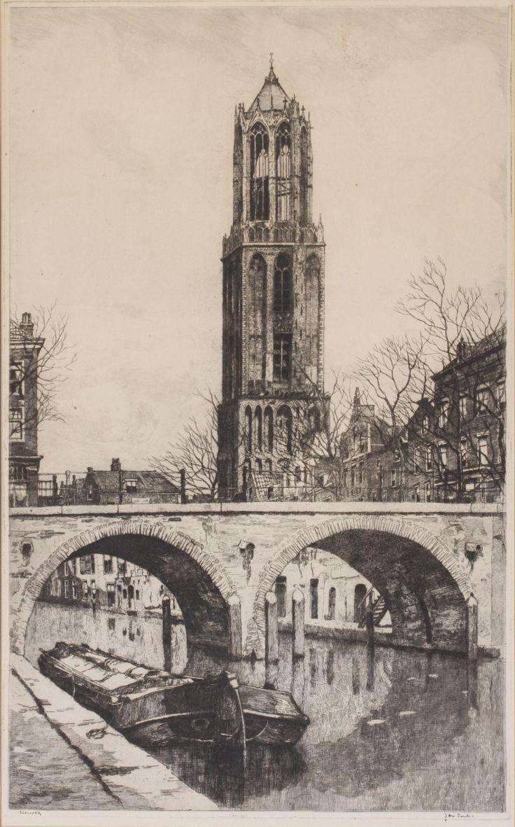 Jan Sirks (1885-1938) Domkerk Utrecht.