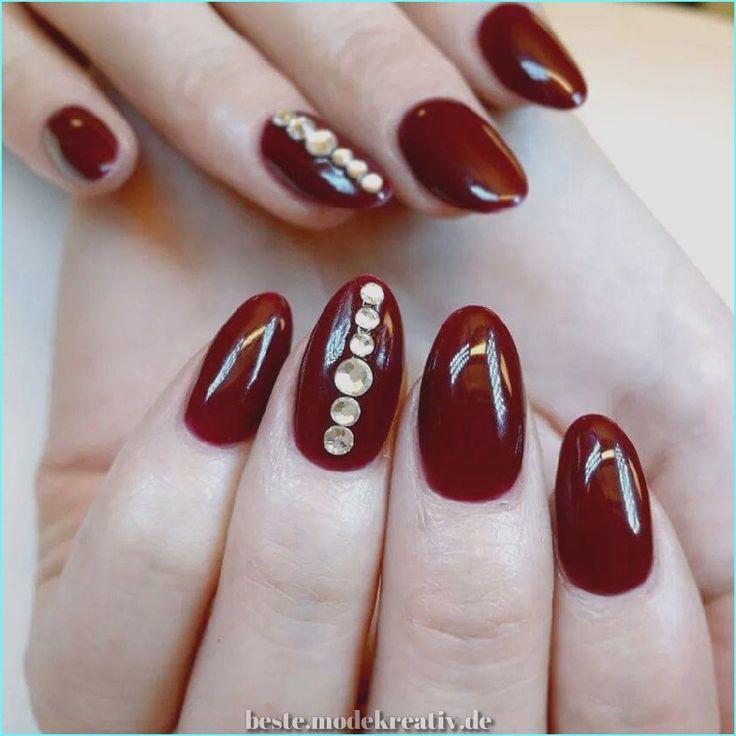 Einzigartig und kreativ 43 Klassische und fröhliche Nagelkunst für ovale Nägel, die Sie mögen … – Nägel