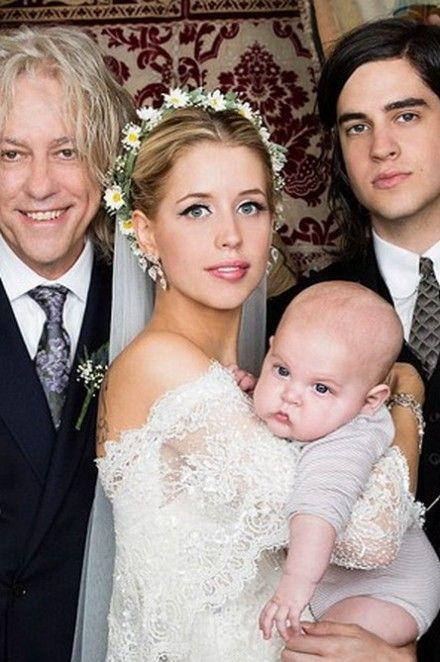 Peaches Geldof <3 -Alberta Ferretti, Celebrities Brides, Wedding, Dresses, Beautiful, Peachesgeldof, Thomas Cohen, Families, Peaches Geldof
