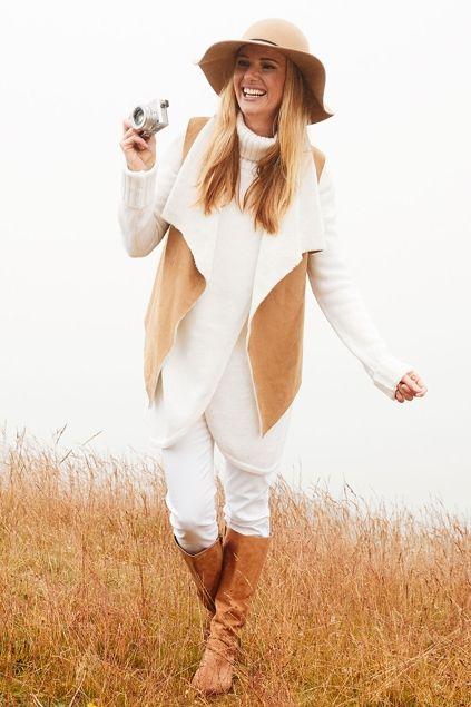 boho bird Warm Heart Vest - Womens Vests - Birdsnest Online Store
