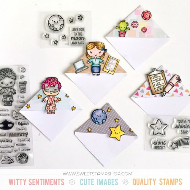 Easy Corner Bookmarks – Samantha