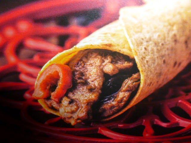 un mondo di ricette: la cucina messicana -fajitas di manzo e peperoni