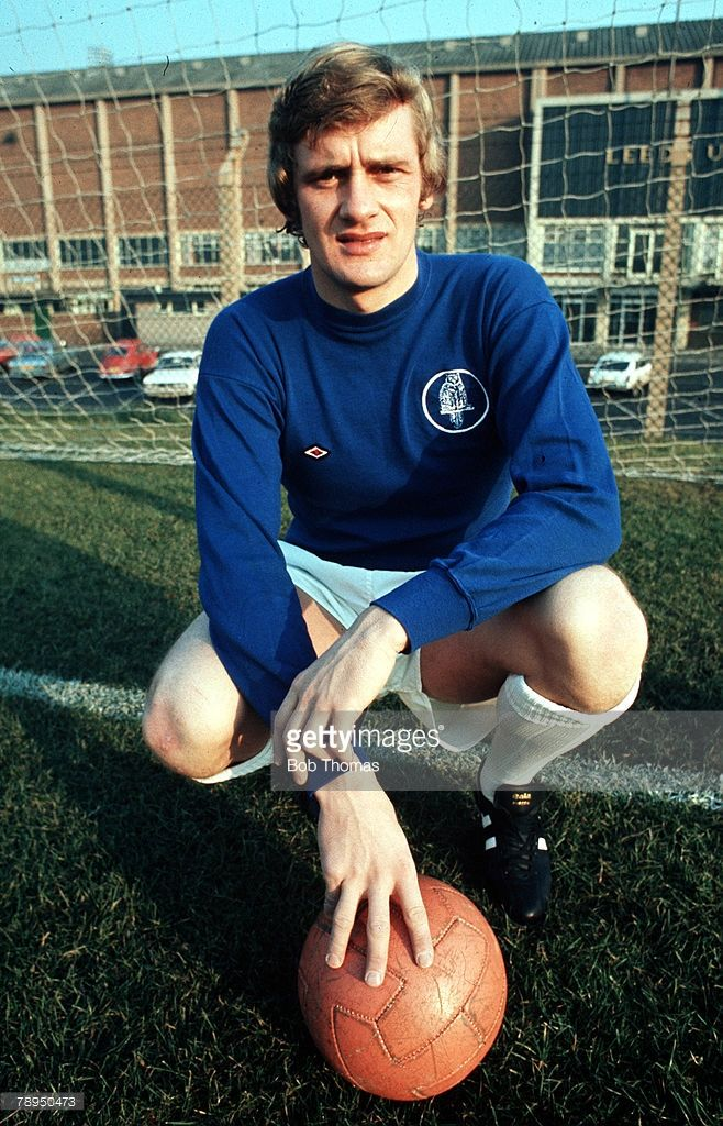 A posed picture of Leeds United goalkeeper Gary Sprake at a club photocall