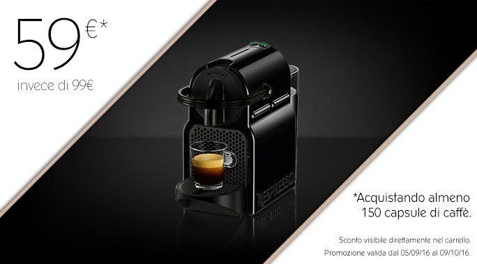 Macchina da Caffè Delonghi Inissia Black | Nespresso