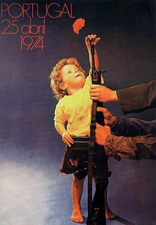 25 Abril 1974 - #Portugal - Revolução dos Cravos