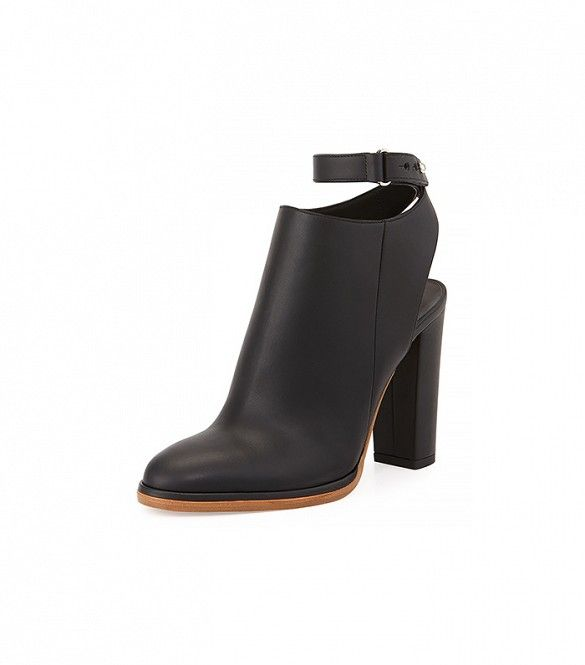Slingback Ankle Boots July 2017