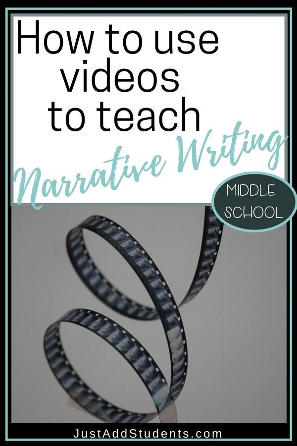 Using Videos to Teach Students about Narrative Writing