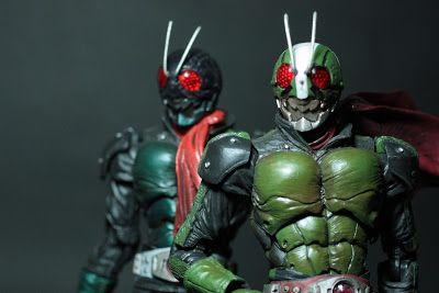 Firestarter's Blog: Toy Review: S.I.C. Movie Realization Kamen Rider The Next