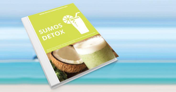 Precisa de perder alguns quilinhos? Opte por uma alimentação saudável e experimente as nossas receitas de sumos detox! Registe-se e receba Grátis o nosso livro de Sumos Detox! #sumosdetox #detox #alimentaçãosaudável #receitas