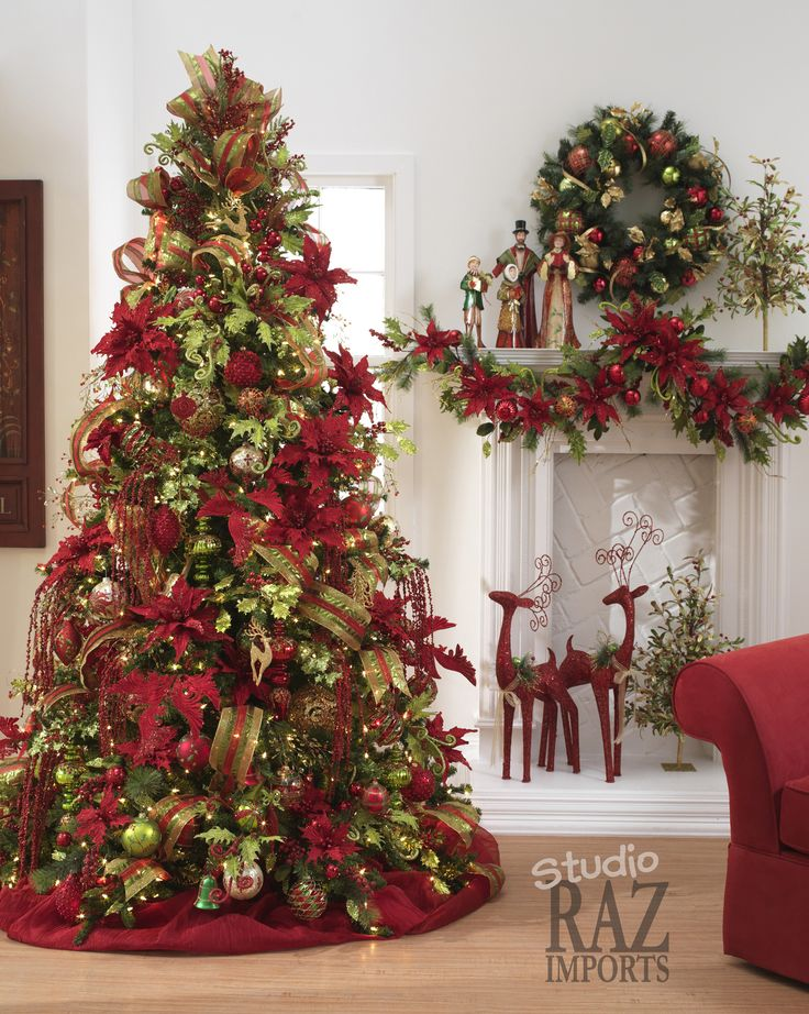 Beautiful Christmas Decorated Living Rooms Picture Window: 20 Best 12 Ft Tall Christmas Tree Images On Pinterest