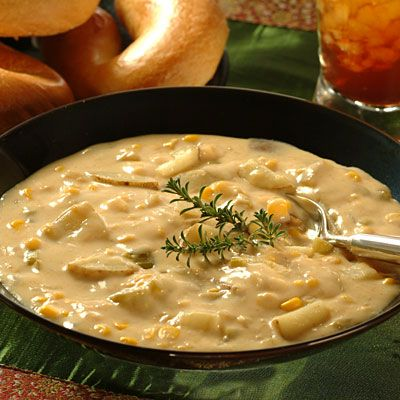 Chile and Potato Soup   Meals.com - This unique combination of flavors ...