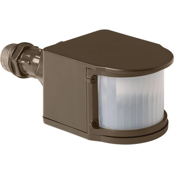 180-Degree Antique Bronze Motion Sensing Outdoor Flood Light