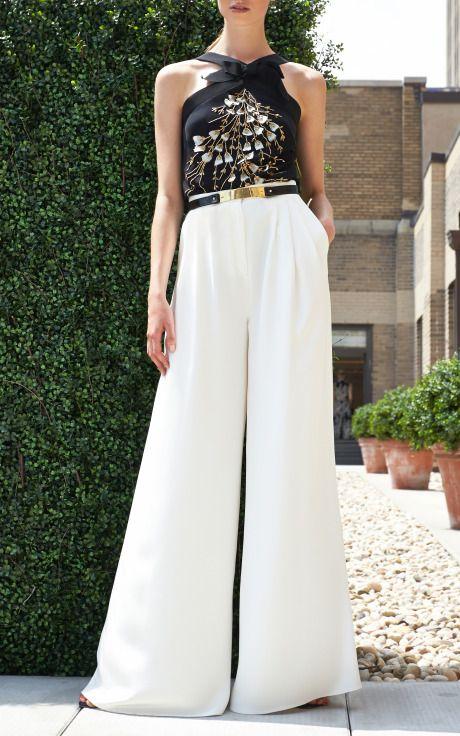 Carolina Herrera Resort 2014 Trunkshow Look 14a - Moda Operandi