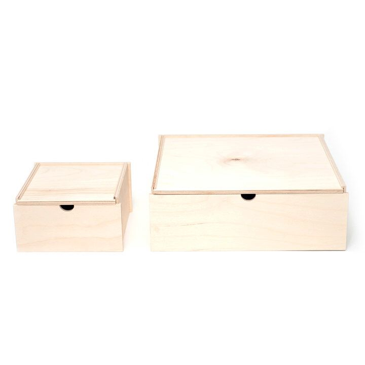 Big Box // Little Box // Wooden Storage Box // Birch Box by WAAMIndustries on Etsy https://www.etsy.com/listing/459436846/big-box-little-box-wooden-storage-box