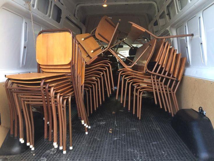 School chairs anyone?
