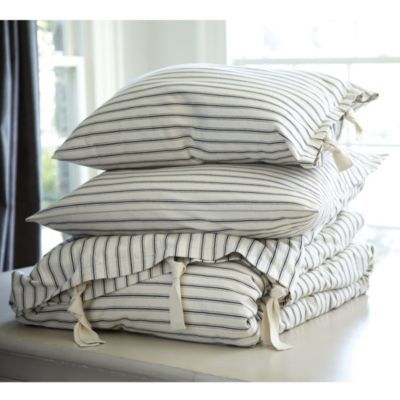 Ticking Stripe Bedding All Things Guest Bed And Design