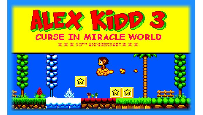 Alex Kidd 3 Curse In Miracle World Ms Beta Download Alex