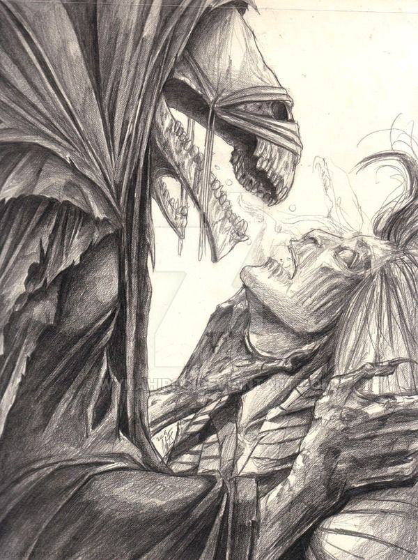 HP - Dementor Kiss by wynahiros