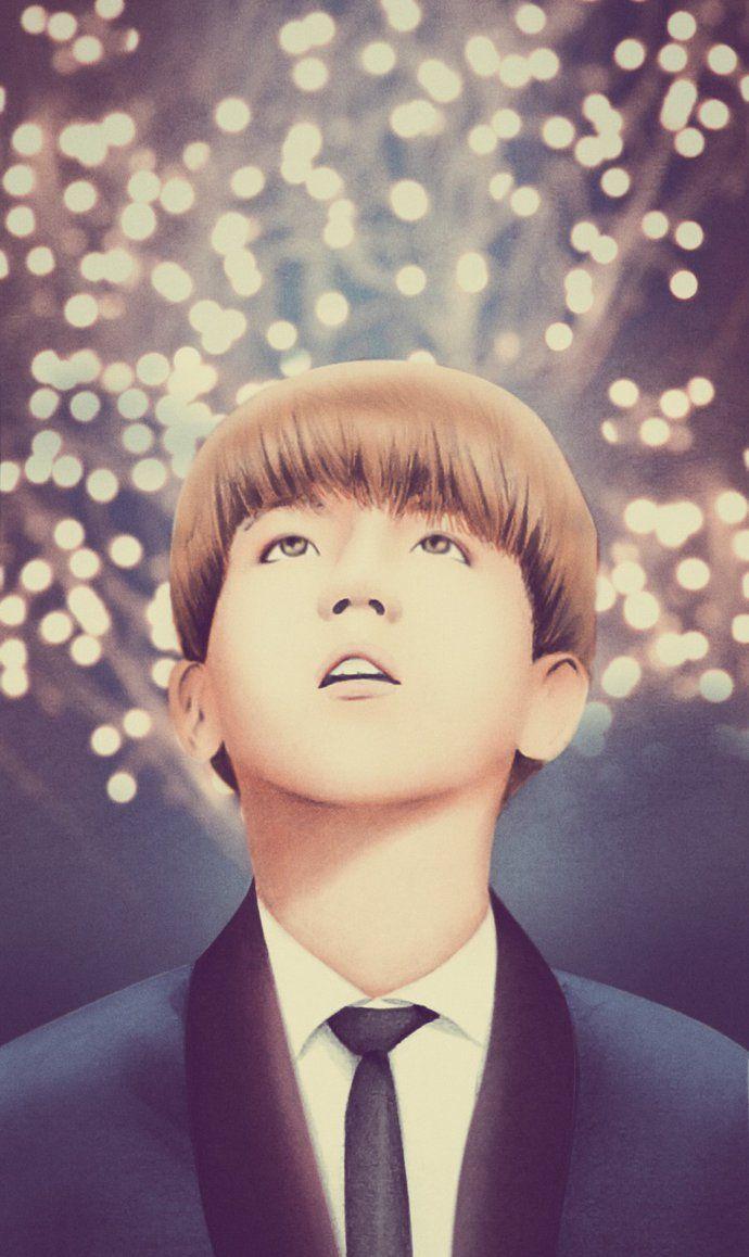 Baekhyun EXO fanart by kinannti