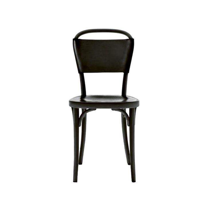 Vilda 3 stol - Vilda 3 stol - svart, svart läder