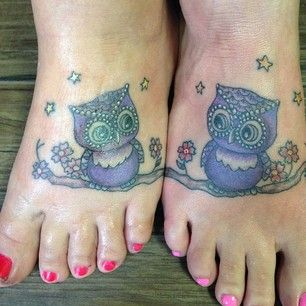 Whoooo knows you better?   33 Super Cute Best Friend Tattoos