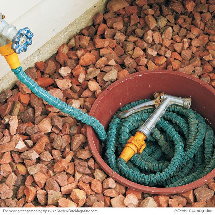 Sunken Hose Pot Garden Hose Storage Hose Storage Garden Hose