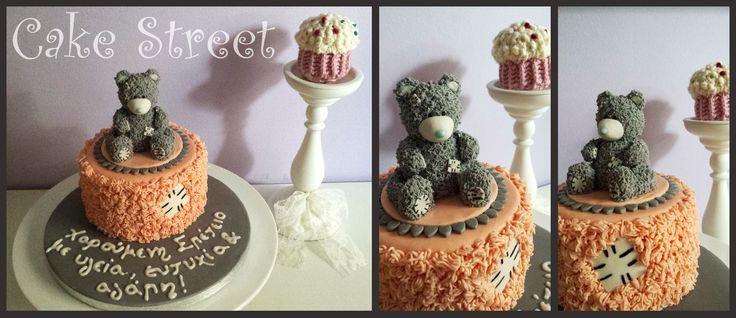 Teddy Bear Anniversary Cake!