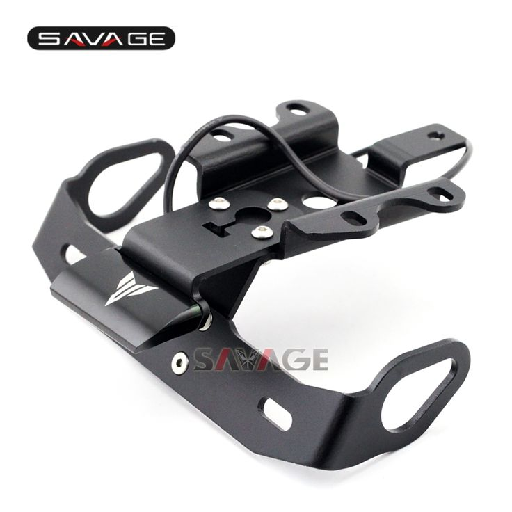 37.79$  Watch here - http://aiw3p.worlditems.win/all/product.php?id=32793382857 - For YAMAHA MT07 MT-07 FZ-07 2014-2016 BK Motorcycle Fender Eliminator Registration Plate Bracket License Plate Holder LED Light