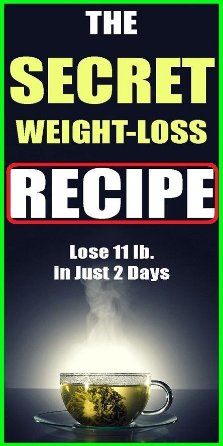 Secret Weight Loss Recipe To Lose 11 Pounds In 2 D…